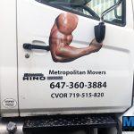 custom truck door graphics