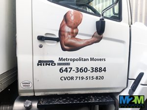 custom truck door graphics