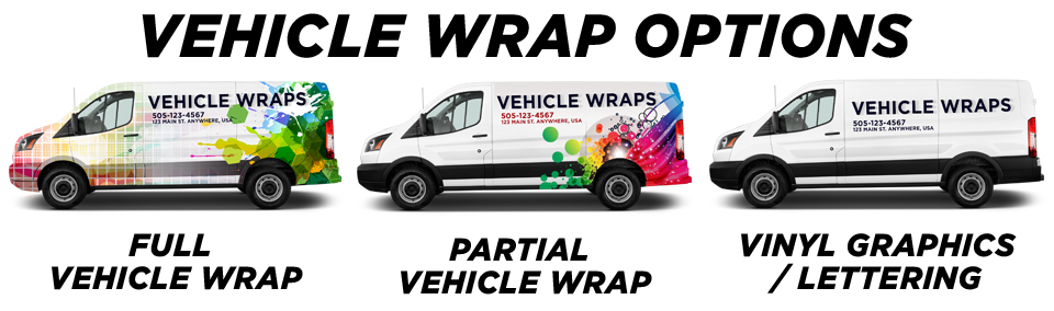 Toronto Vehicle Wraps & Graphics vehicle wrap options